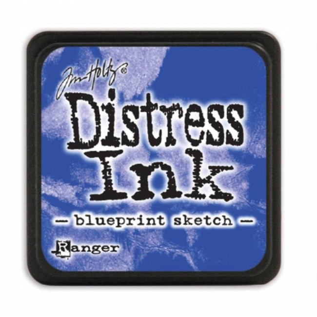 Encre Mini Distress Ink Blueprint Sketch