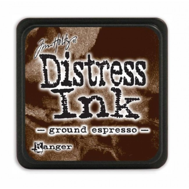 Encre Mini Distress Ink Ground Espresso