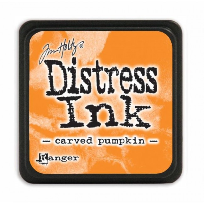 Encre Mini Distress Ink Carved Pumpkin