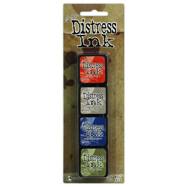 Kit Encre Mini Distress Ink #5