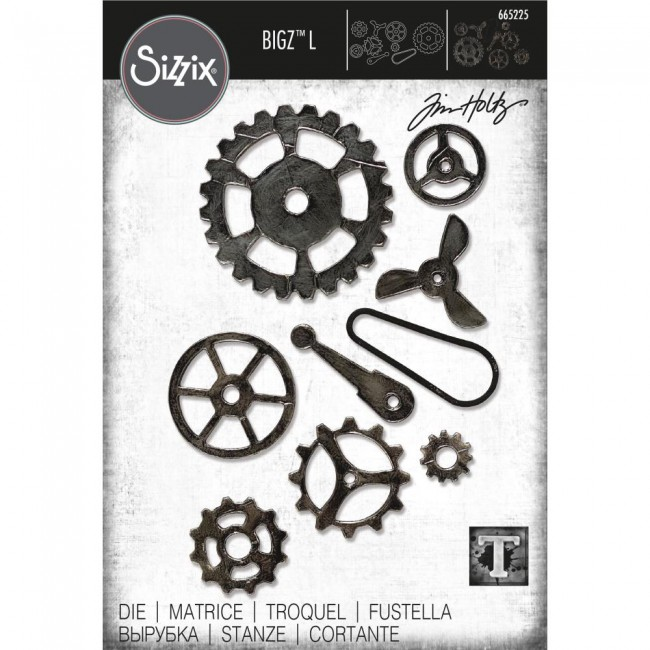 Matrice de Découpe Bigz L Mechanical by Tim Holtz