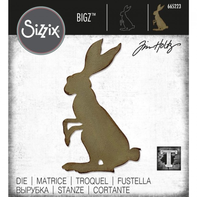 Matrice de Découpe Bigz Mr. Rabbit by Tim Holtz