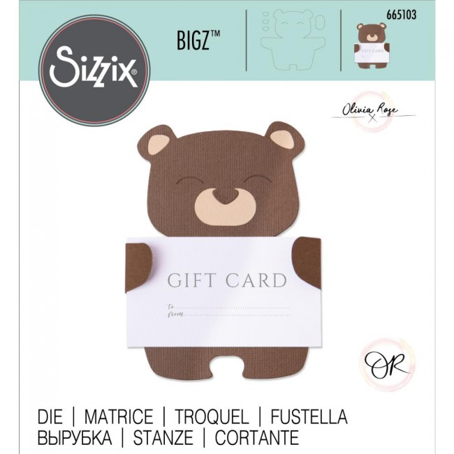 Matrice de Découpe Bigz Teddy Treats by Olivia Rose