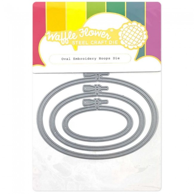 Matrice de Découpe Oval Embroidery Hoops