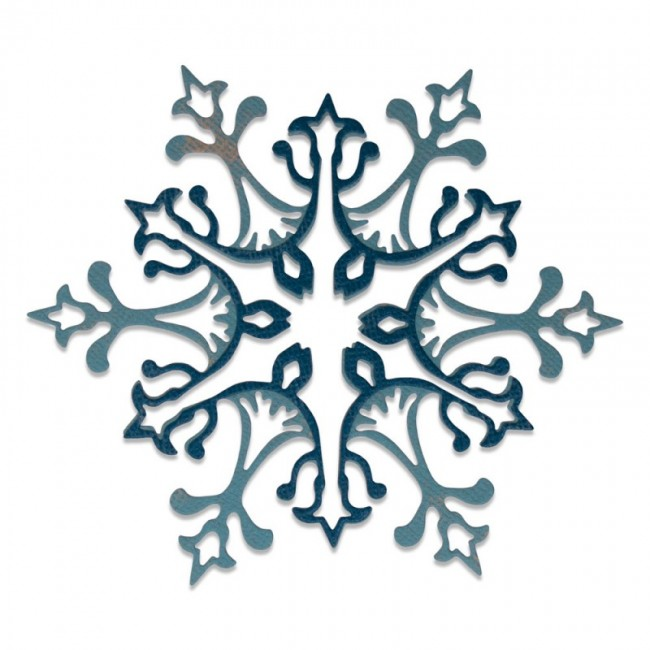 Matrice de Découpe Thinlits Stunning Snowflake by Tim Holtz