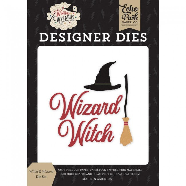Matrice de Découpe Witches & Wizards Witch & Wizard