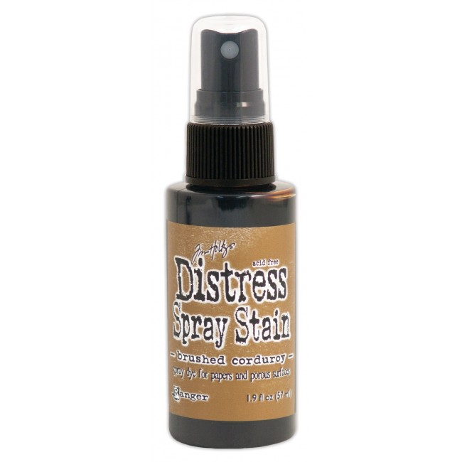 Encre Distress Spray Stain Brushed Corduroy