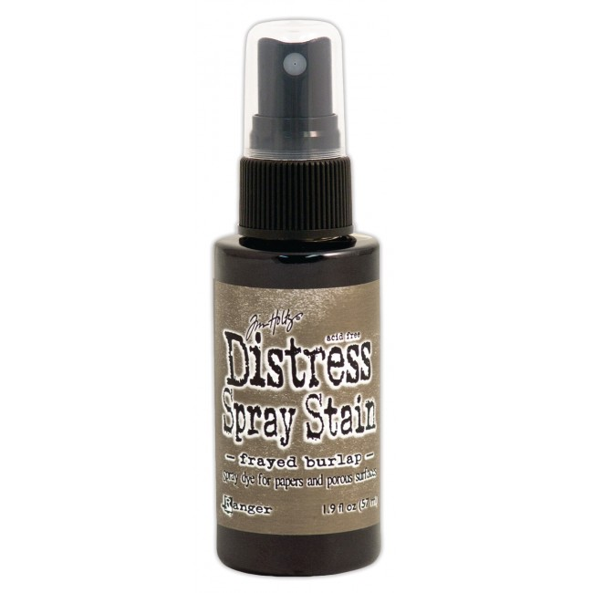 Encre Distress Spray Stain Frayed Burlap