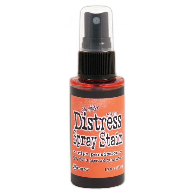 Encre Distress Spray Stain Ripe Persimmon