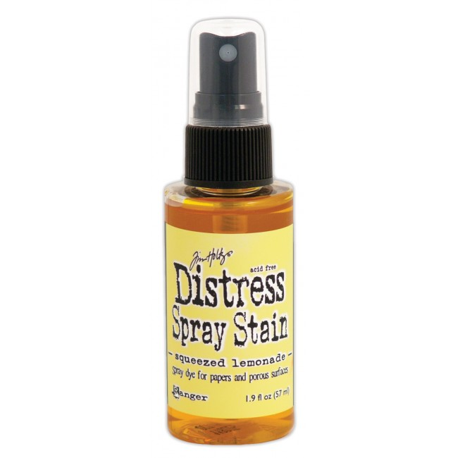 Encre Distress Spray Stain Squeezed Lemonade