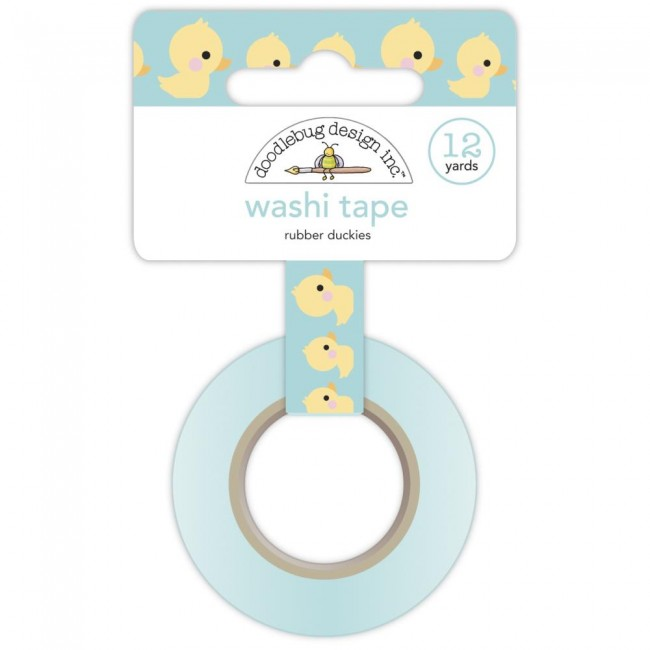 Washi Tape Special Delivery DO Rubber Duckies