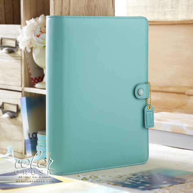 A5 Light Teal Planner