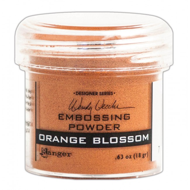 Poudre d'embossing Orange Blossom