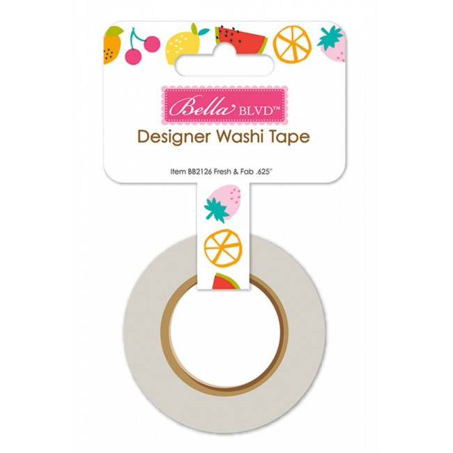 Lot de Washi Tape Squeeze The Day Fresh & Fab