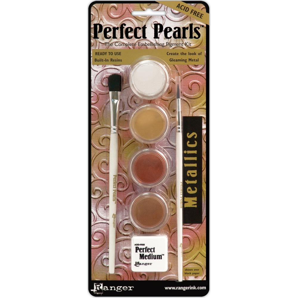 Kit Poudre Perfect Pearls Metallics