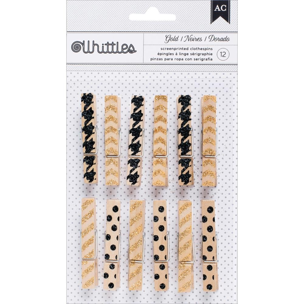 Whittles Clothespins Trendy