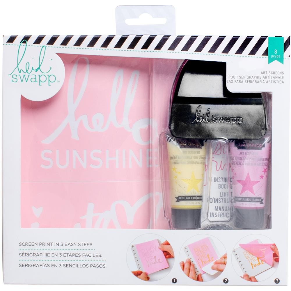 Hello Sunshine Art Screen Print Kit