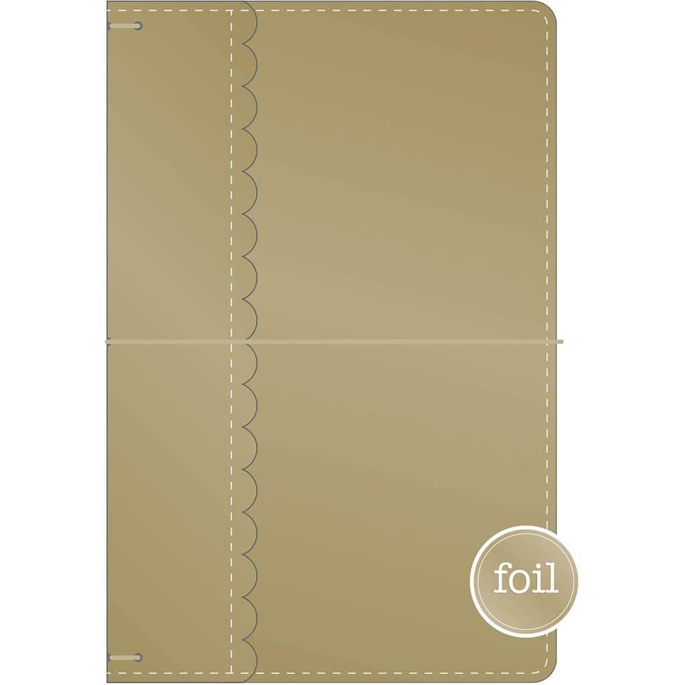 Traveler's Notebook Gold