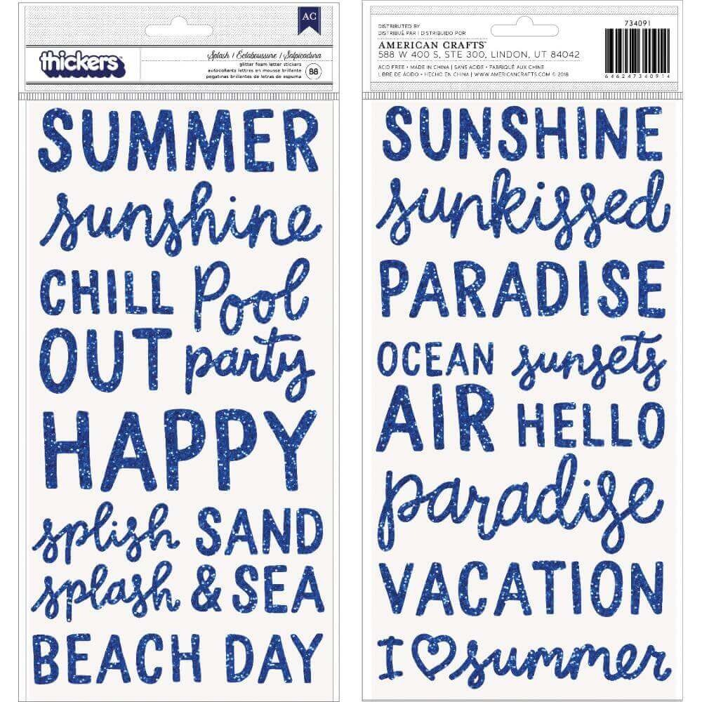 Thickers Oh Summertime Phrase & Icon