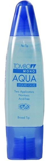 Colle Liquide Mono Aqua Liquid Glue Bleue