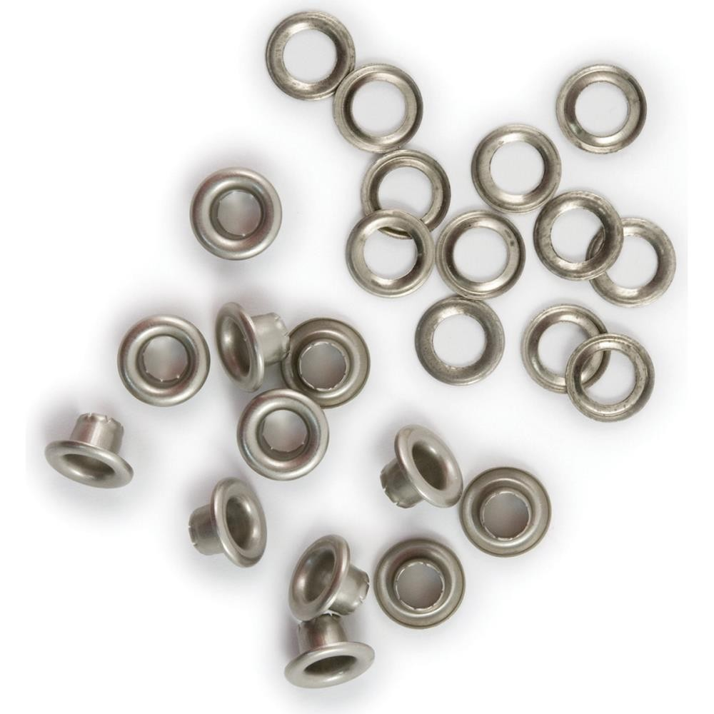 Eyelets & Rondelles Nickel 5 mm