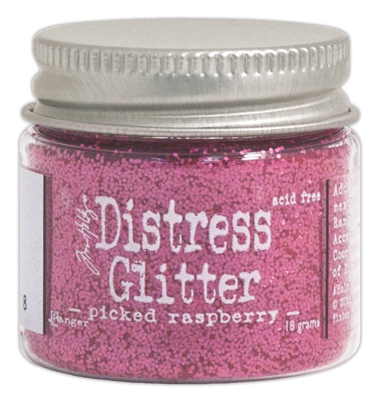 Glitter Picked Raspberry