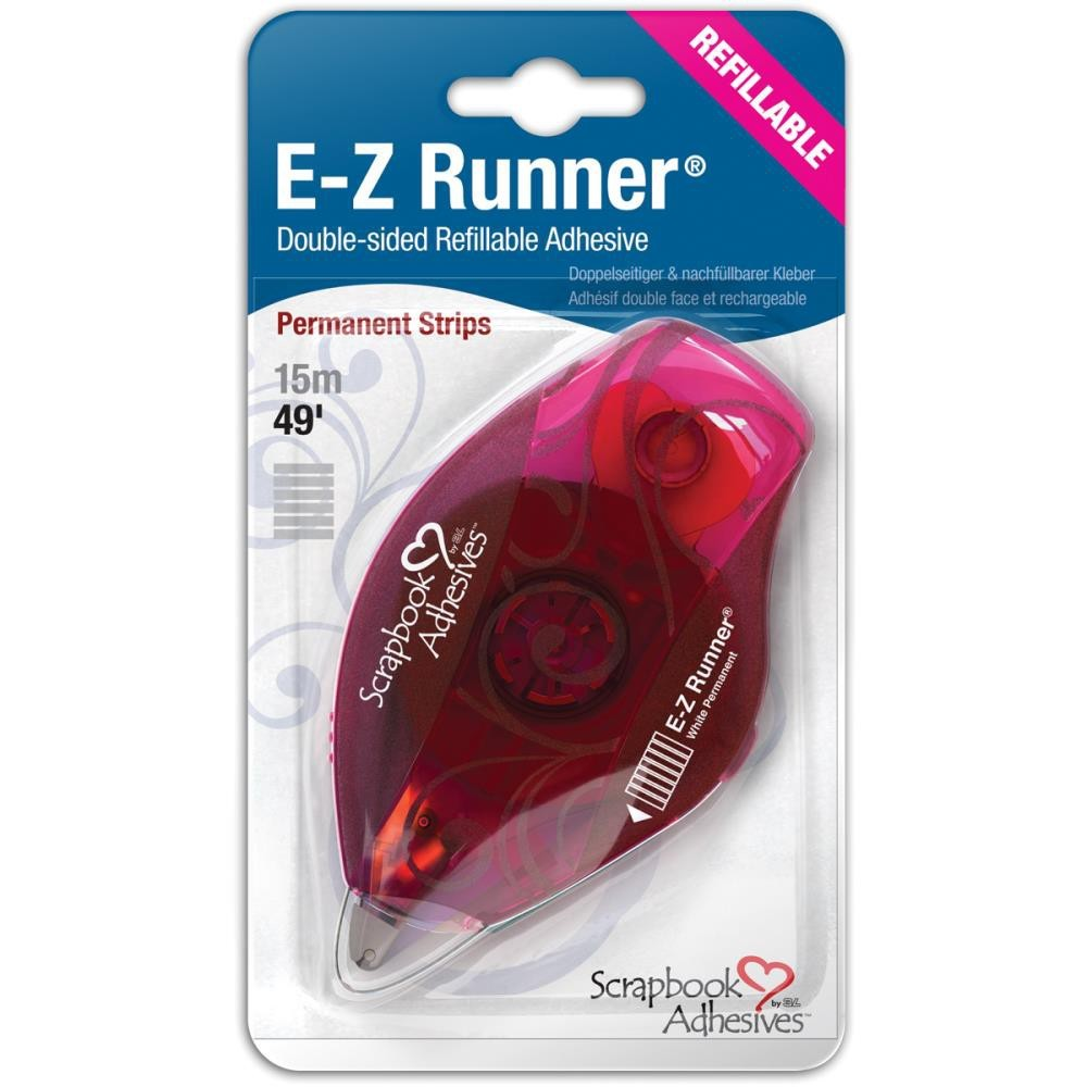 Ruban adhésif à double face E-Z Runner Strips Permanente Rechargeable