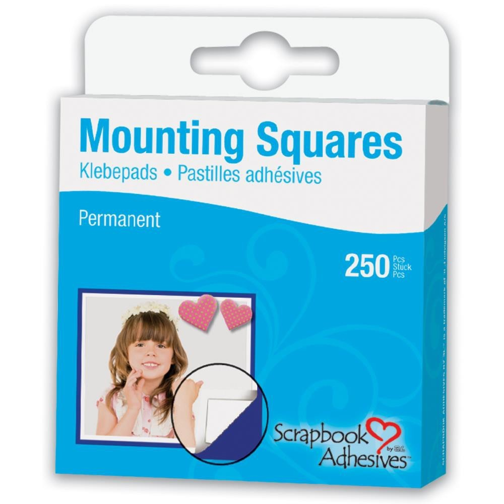 250 Mounting Squares Permanents