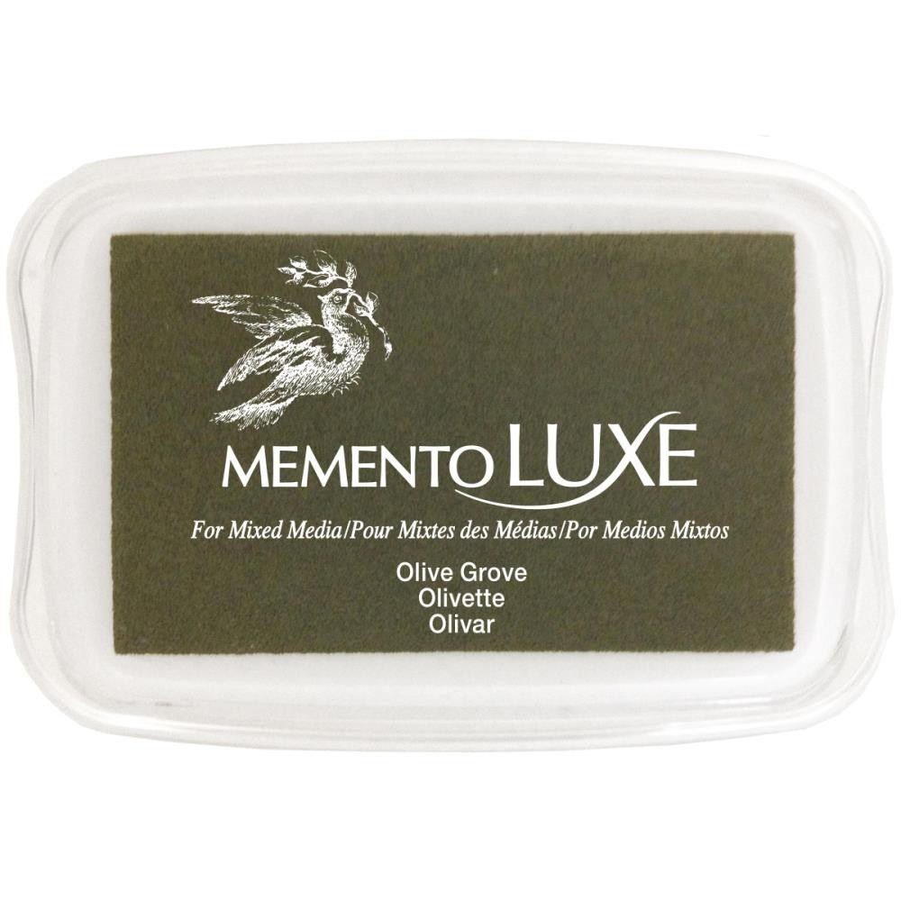 Encre Memento Luxe Olive Grove
