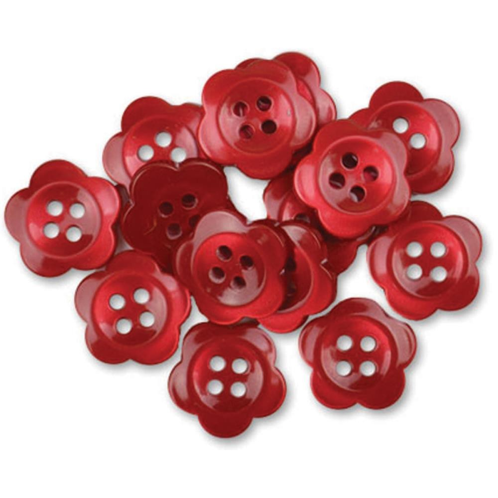 Boutons Blooms Red