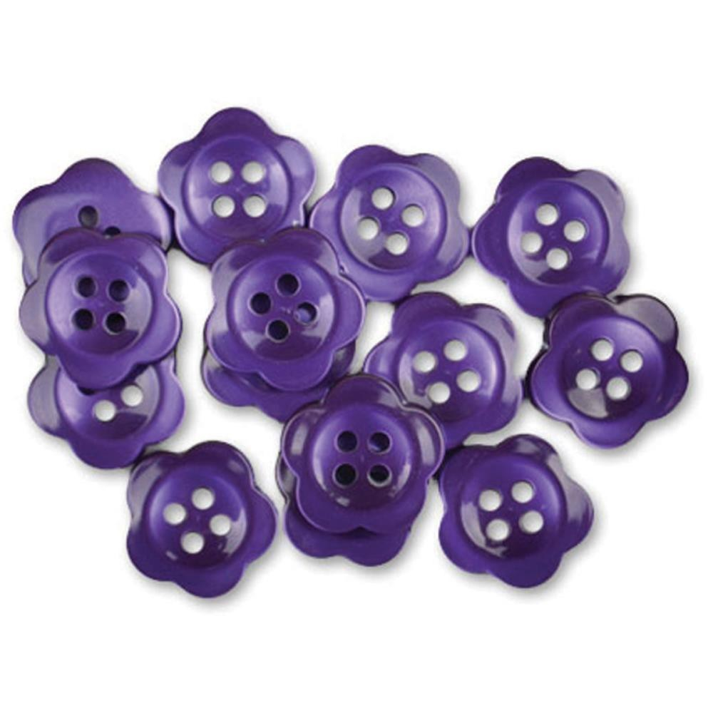 Boutons Blooms Purple