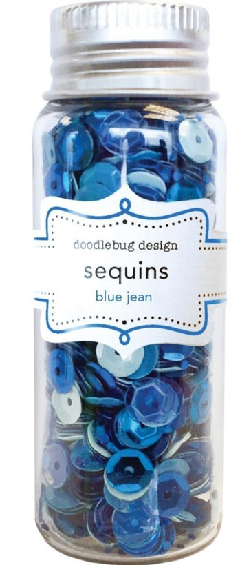 Sequins Blue Jean Assortment