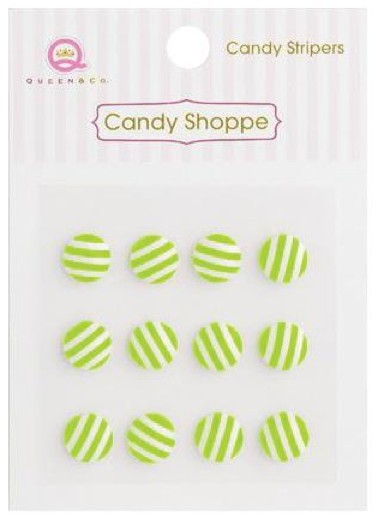 Candy Shoppe Stripers Kiwi Kiss