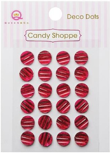 Candy Shoppe Deco Dots Red