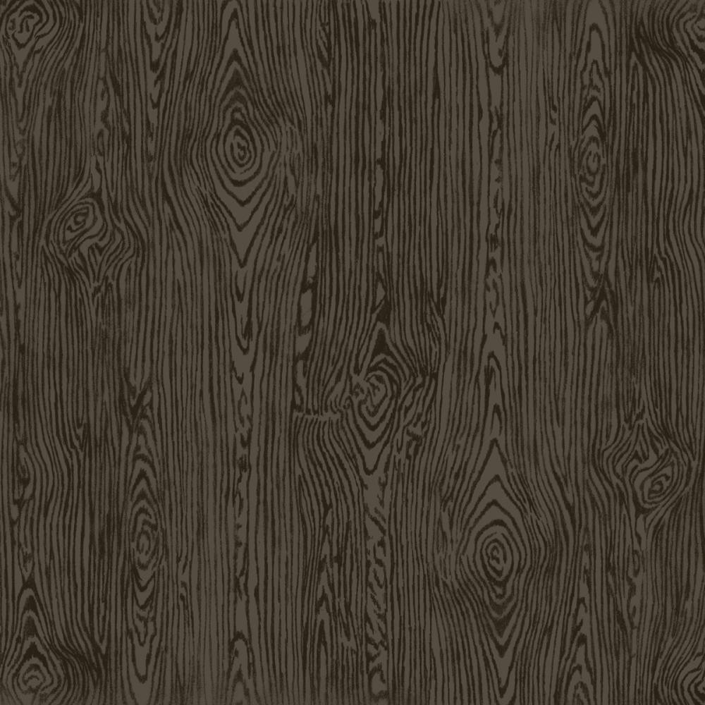 Papier Unis Woodgrain 12x12 Black