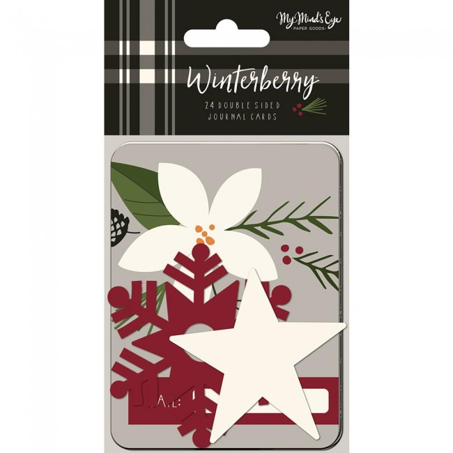 """Cartes Project Life Winterberry 3""""X4"""""""
