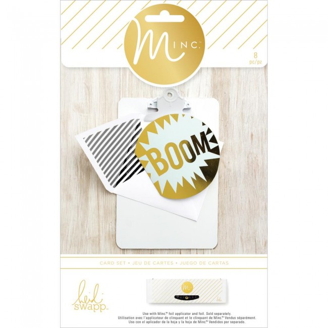 Minc Cards & Envelopes Boom