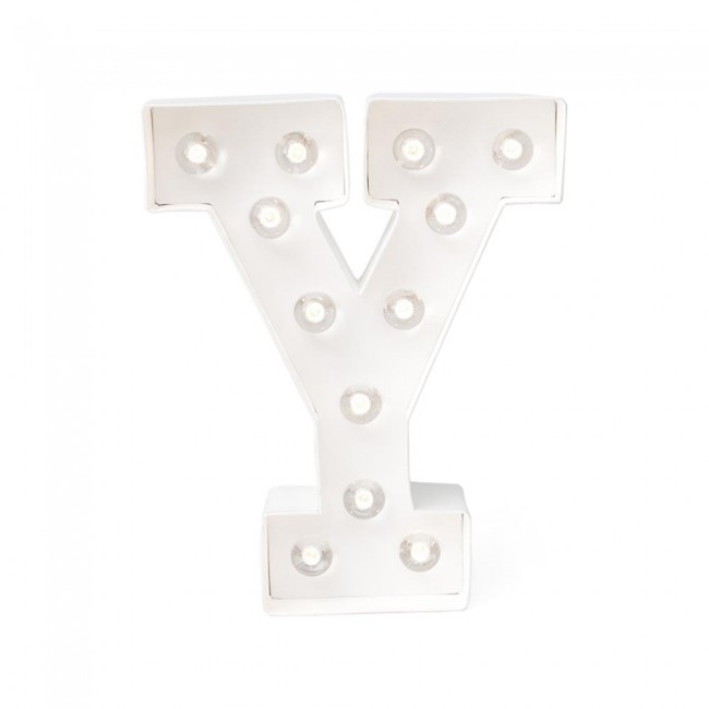 "Lettre Marquee Love 8"" Y"