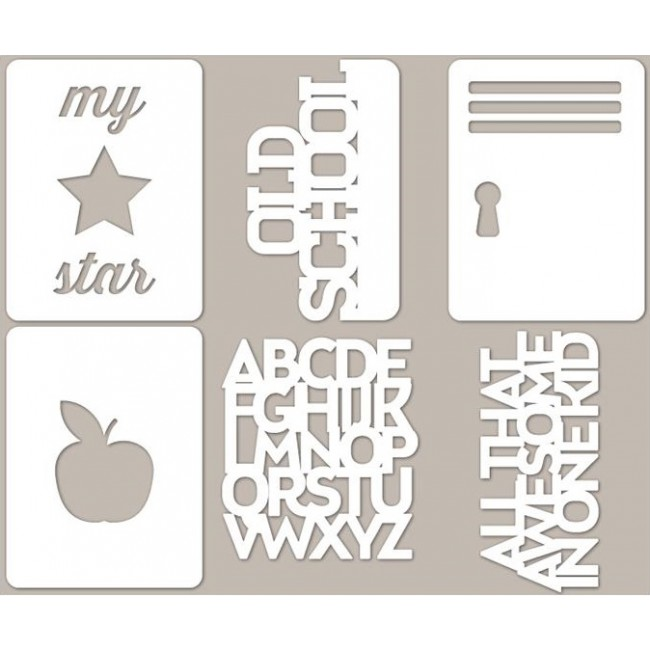 Mini Placemats Alphabet Soup 2