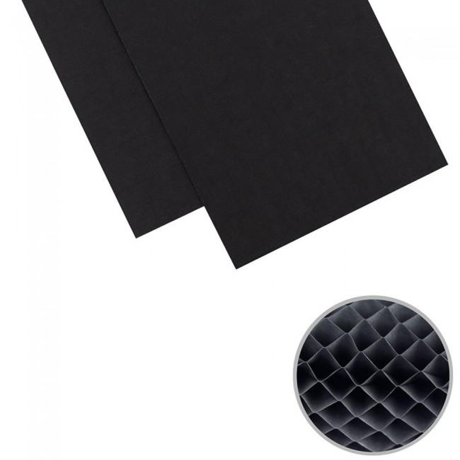 DIY Party Honeycomb 5,75x 12Black