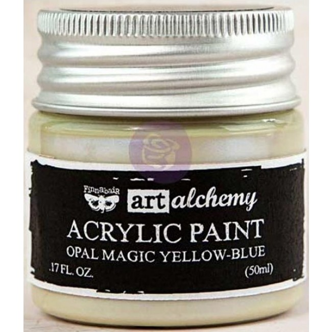 Peinture Acrylique Opal Magic - Yellow/Blue