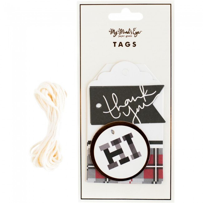 Plaid Tags