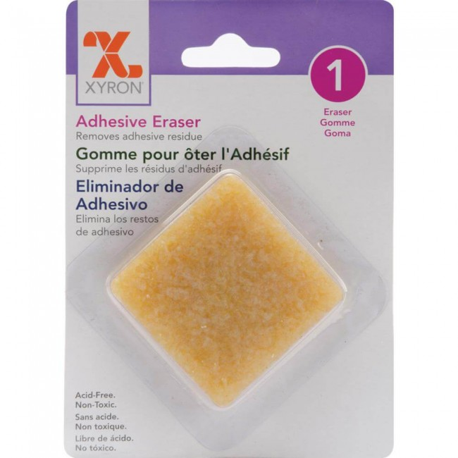 "Gomme Pour colle 2"" x 2"""