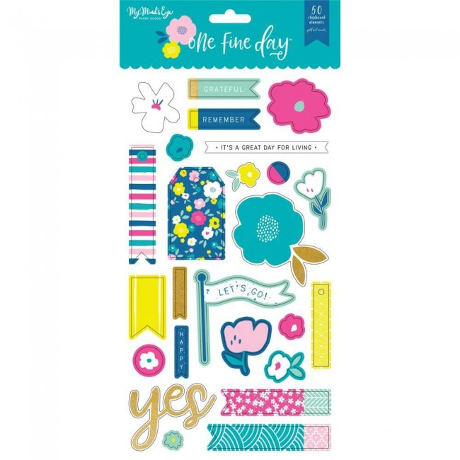 Chipboard 6x12 One Fine Day