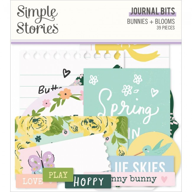 Die Cuts Bunnies & Blooms Journal