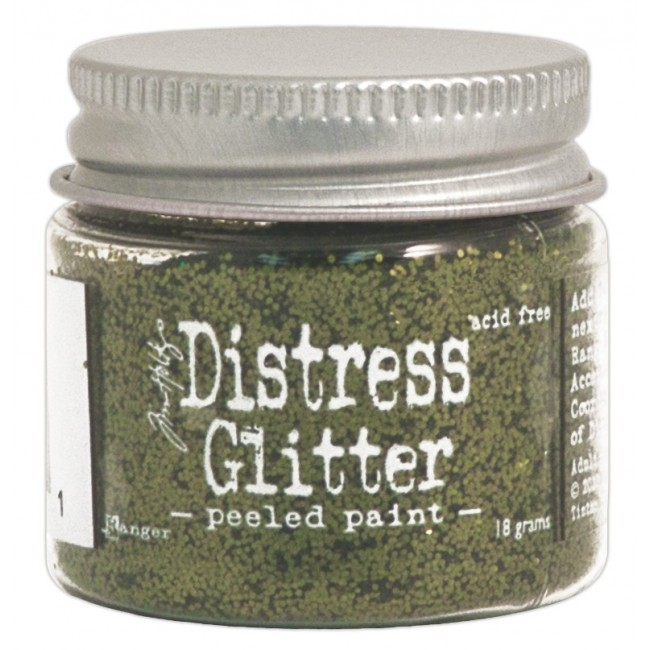 Glitter Peeled Paint
