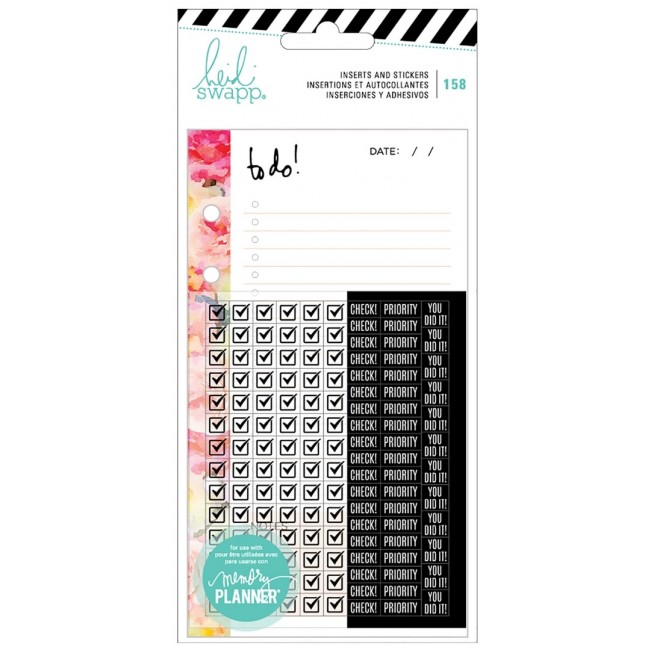 Inserts Memory Planner - To Do