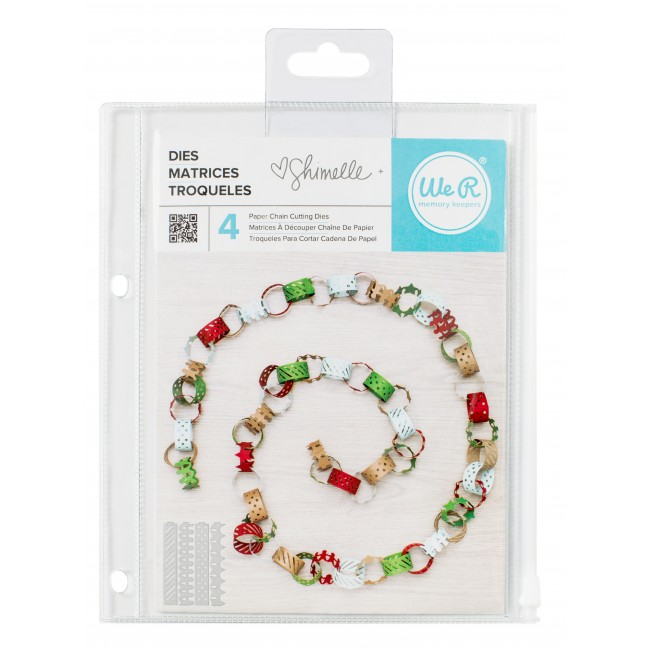 Paper Chain Cutting Dies Shimelle