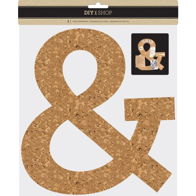 Cork Ampersand DIY Shop 3