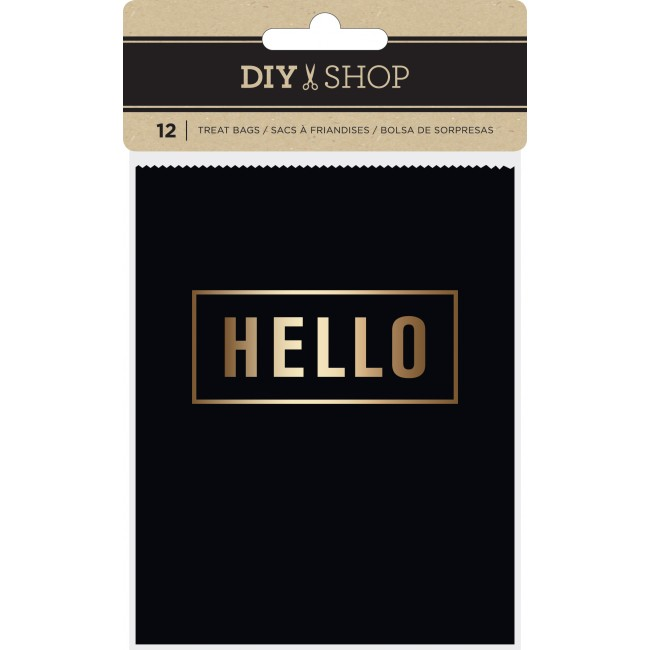 Gold Foil Treat Bags DIY Shop 3